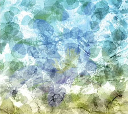 自然抽象的ななだめるような背景や背景 写真素材