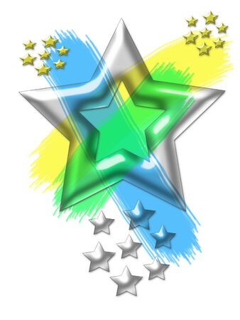 Star Power - Illustration of Stars