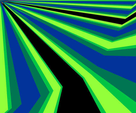 Colorful Diagonal Rays Abstract Background