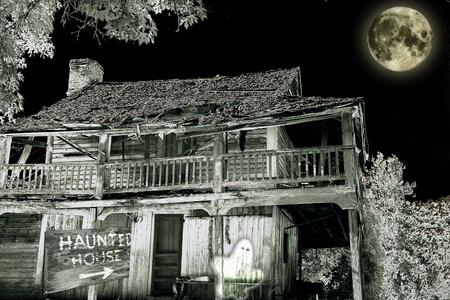 Haunted House  写真素材