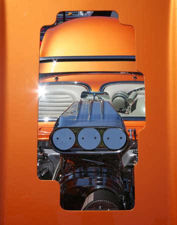 alto rendimiento: Alto rendimiento del motor a trav�s de Open Enmarcado Hood