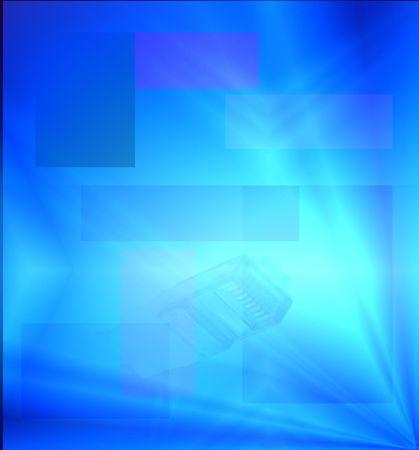 Blauwe stralen van licht Abstract achtergrond voor Website Internet achtergrond Stockfoto