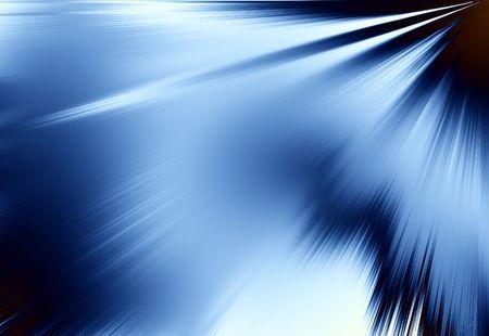 Blauwe stralen van lichte achtergrond Abstract achtergrond