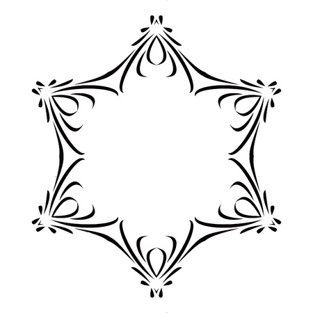 Black & White Scroll Frame Background Royalty Free Cliparts, Vectors ...