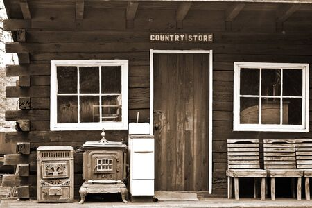 Old West Style Country Store Stock Photo - 10536377