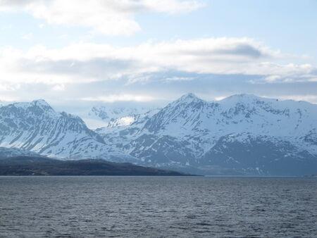 fjords: Norwegian fjords Stock Photo