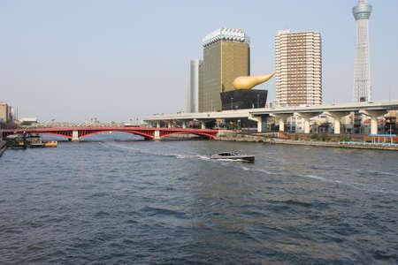 sumida: Sumida River landscape