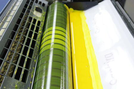 etalonnage: Machine d'encre et �talonnage