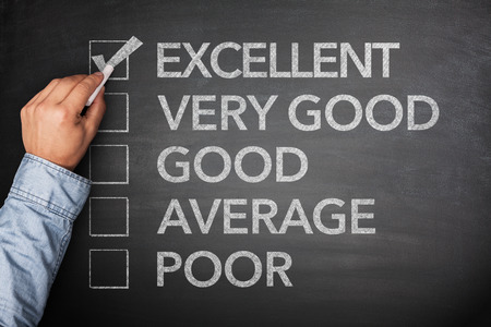 questionaire: Excellent result on survey on blackboard