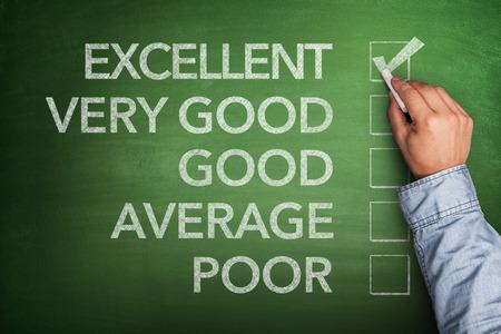 verry: Excellent result on survey on blackboard