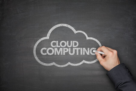 Cloud computing technology scheme on Blackboard photo