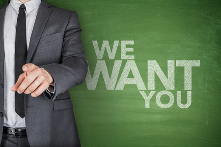 employment agency: We Want You On Blackboard