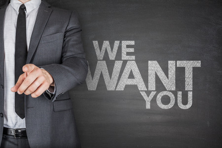 career job: We want you on Blackboard