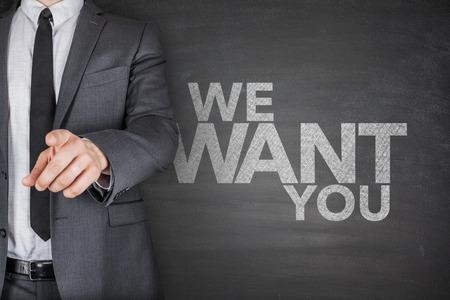 employment agency: We want you on Blackboard