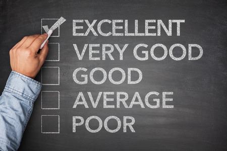 Survey on black blackboard with excellent result