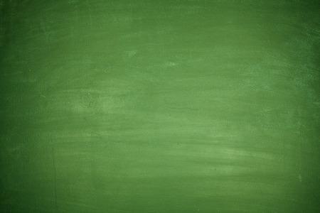 보드에 아무것도 완전히 빈 녹색 칠판