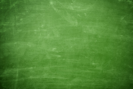 Blank green blackboard