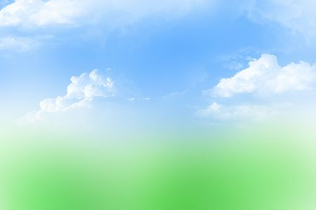 celeste: Sky and grass abstract background