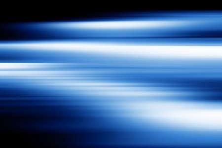 Blue motion blur photo