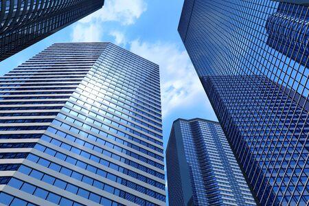 Business buildings photo