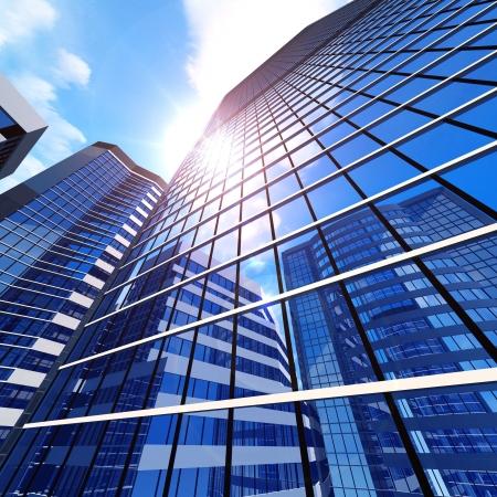 회사: 비즈니스 건물