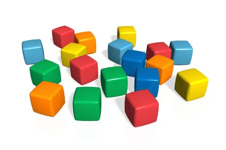 Toy blocks photo