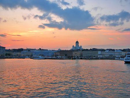 Evening Helsinki photo