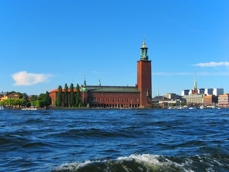 Stockholm, City Hall Stock Photo - 4727923