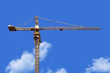 Crane tower photo