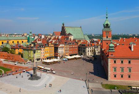 warsaw: Castle Square, Warsaw, Poland