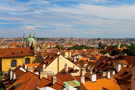 Prague panorama photo