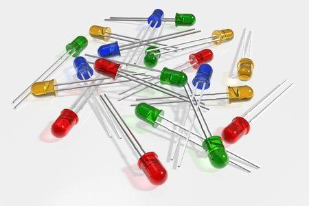 leds: Leds de colores