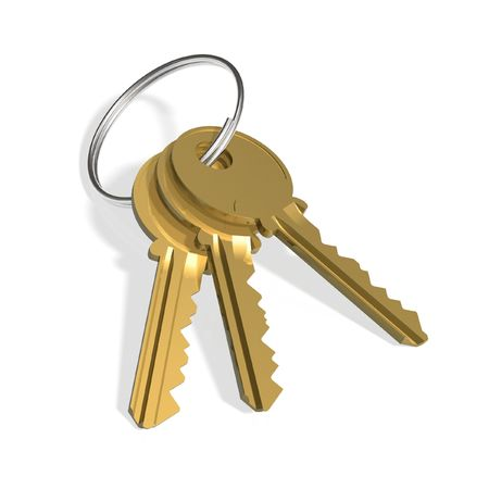 Golden keys photo