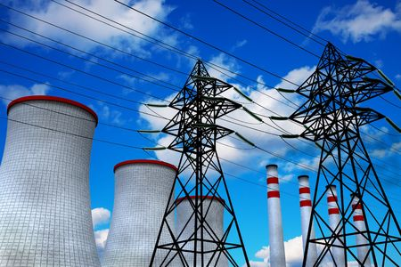 Heat and Power Engineering concept photo