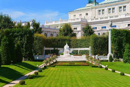 Monument for Empress Elisabeth in Vienna, Austria Reklamní fotografie