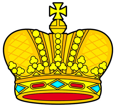 royal person: Royal crown