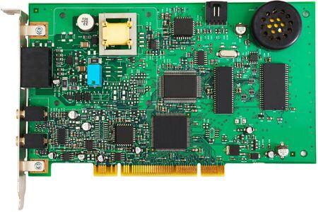 pci card: Green PCI card