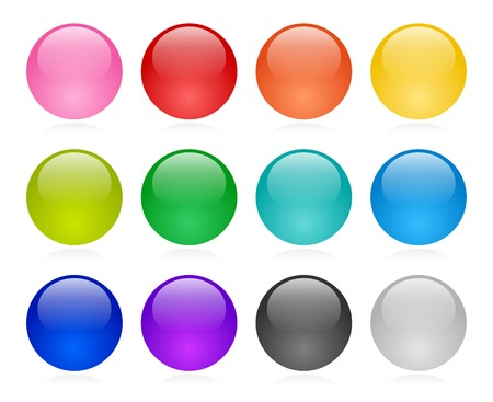Web button set Stock Vector - 4897491