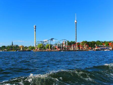 Amusement park in Stockholm, Sweden photo