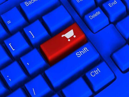 E-commerce concept Stock Photo - 4916304