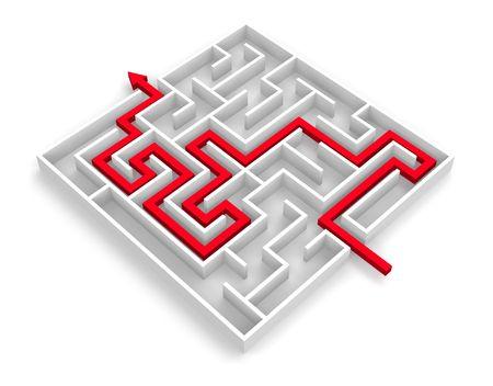 across labyrinth photo
