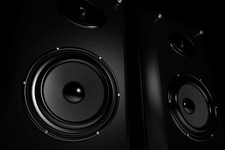highend: High-end stereo speakers