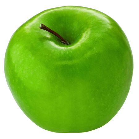 granny smith apple: Fresh Granny Smith apple Stock Photo