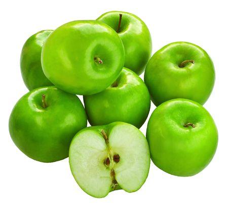 apple tart: Fresh Granny Smith apples Stock Photo