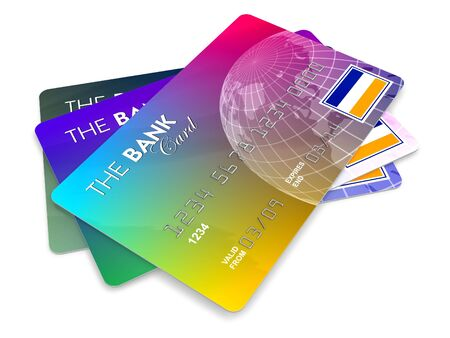 Credit cards Stock Photo - 5219108