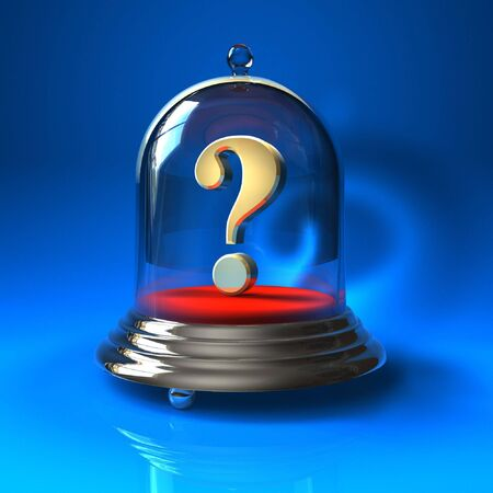 etalon: The Question Stock Photo