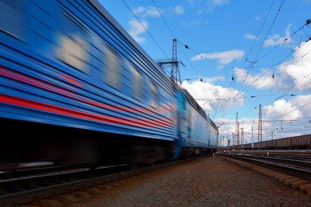 catenation: Speed train departure