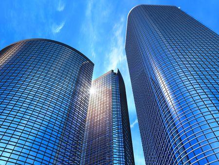 edificio corporativo: Edificios de negocios Foto de archivo