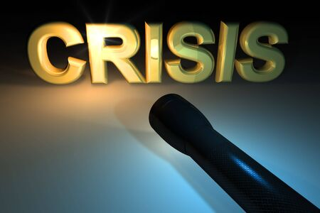 unsuccess: Crisis concept Stock Photo