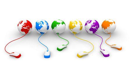 Internet concept Stock Photo - 5335041